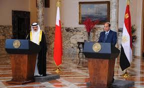 السيسي و ملك البحرين