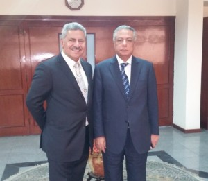 Dr Mahmoud Abou Zied and Dr Abdalla Alnajjar