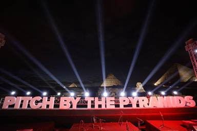 Pitch by the Pyramids 1